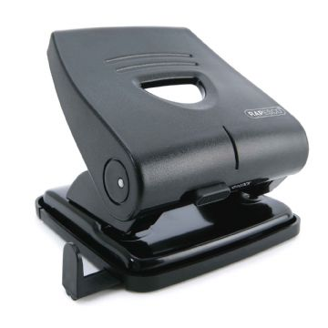 RAPESCO HOLE PUNCH 2-HOLE PUNCH 30 Sheet Capacity- All Metal Construction Black